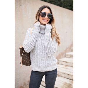 Banana Republic Ribbed Turtleneck Sweater